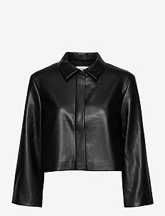 VEREL JACKET - skinnjackor - black