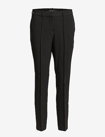 BLEECKER - pantalons droits - black