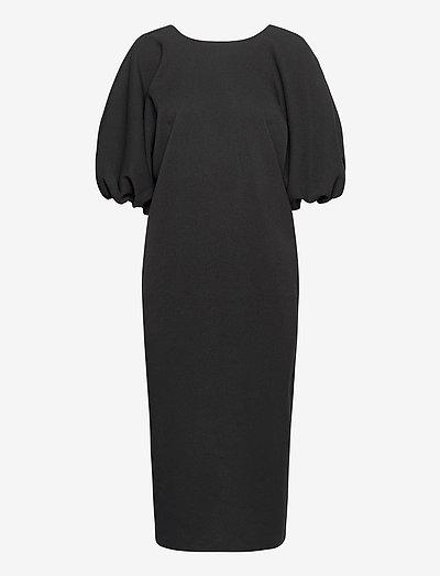BRUNN DRESS - hverdagskjoler - black