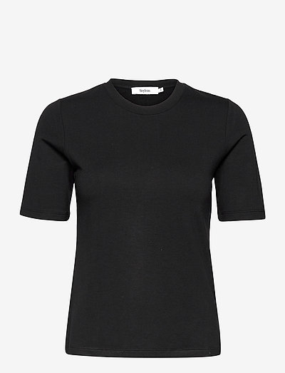 CHAMBERS - t-shirts & tops - black