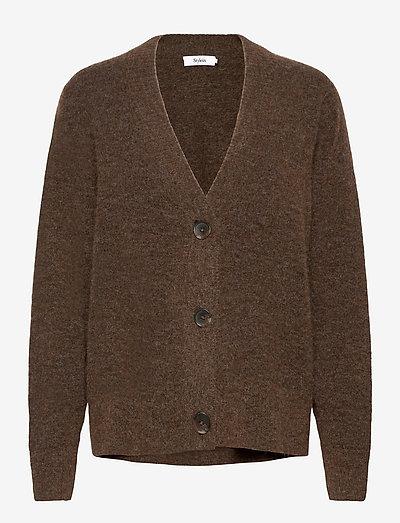 ELLIE CARDIGAN - cardigans - brown