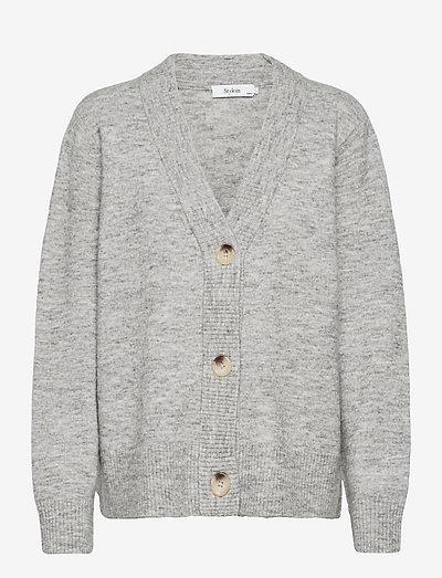 ELLIE CARDIGAN - cardigans - light grey