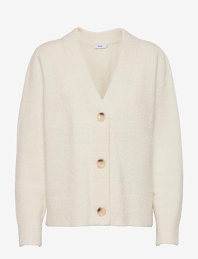 ELLIE CARDIGAN - cardigans - white