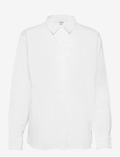 JACKIE - langærmede skjorter - white