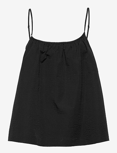 METZ - sleeveless blouses - black