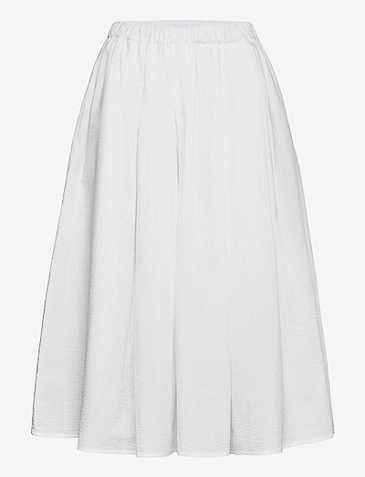 MIRAMAS - midi-röcke - white