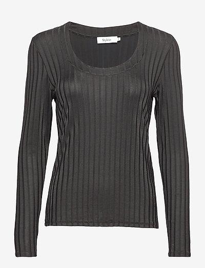 PETRONELLA TOP - blouses à manches longues - black