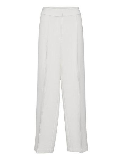 BILL TROUSER - pantalons droits - white