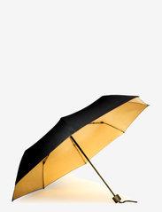 Suck UK - Black & Gold Umbrella - paraplyer - black - 1