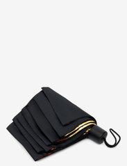 Suck UK - Black & Gold Umbrella - paraplyer - black - 2