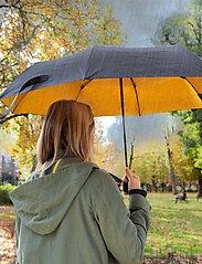 Suck UK - Black & Gold Umbrella - paraplyer - black - 4