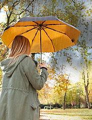 Suck UK - Black & Gold Umbrella - paraplyer - black - 5
