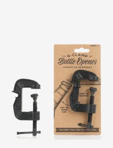 G-clamp bottle opener - korkkiruuvit & avaajat - black