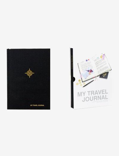 MY TRAVEL JOURNAL BLACK - shop etter pris - black