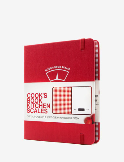 Cook's Book Scales - kjøkkenvekter - red