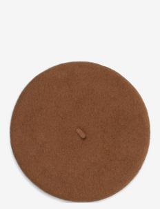 Flora Baret - hatte - camel