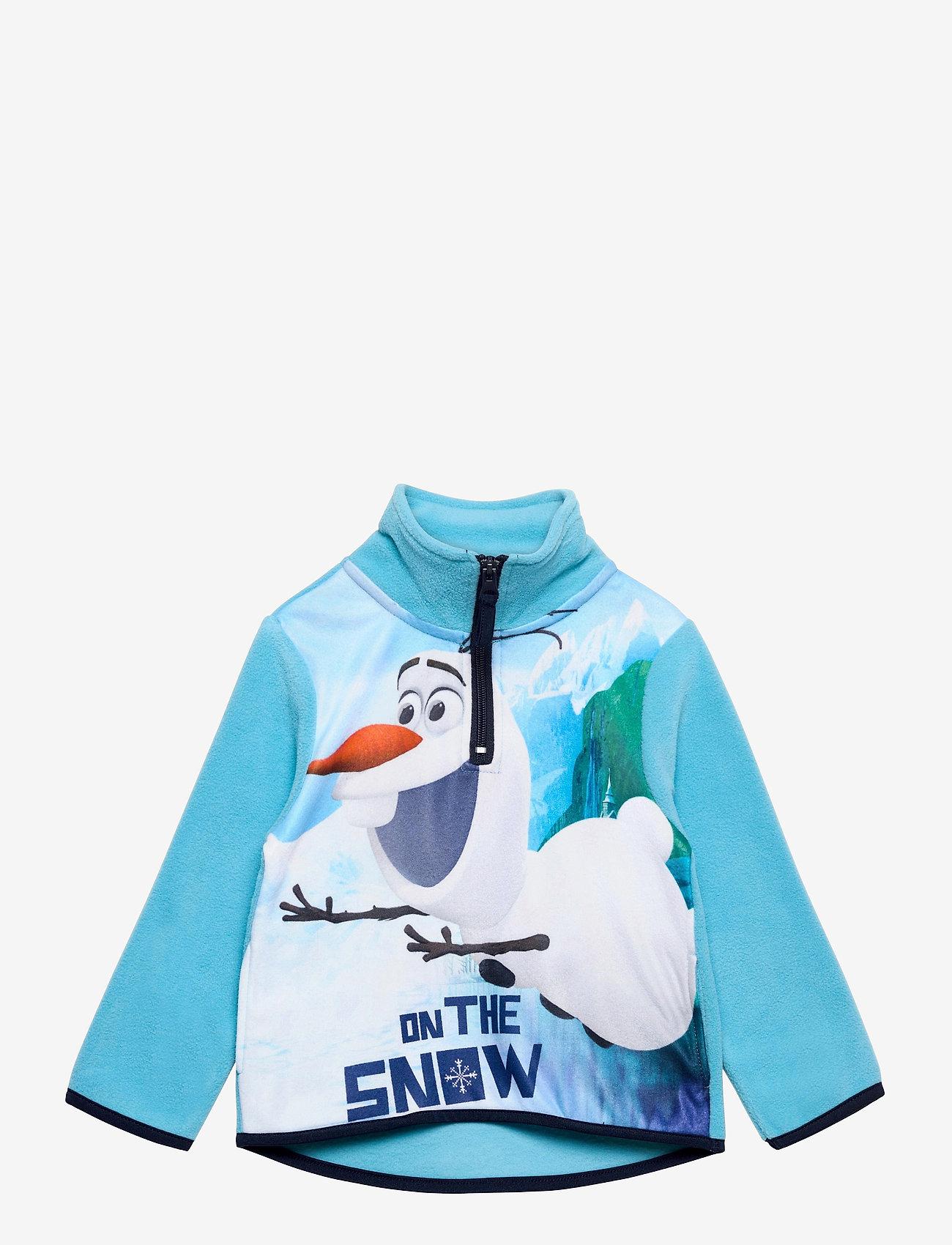 Disney - SWEAT HALF ZIP 100%PE - fleecetøj - turquoise - 0