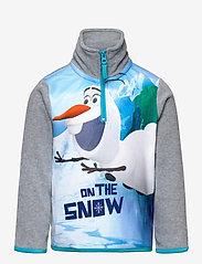Disney - SWEAT HALF ZIP 100%PE - fleecetøj - lgrey - 0