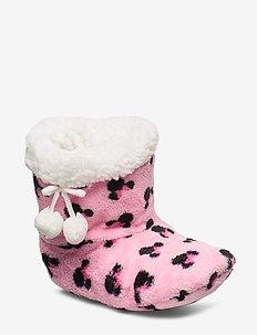 ELASTIC SLIPPERS - domowe - pink