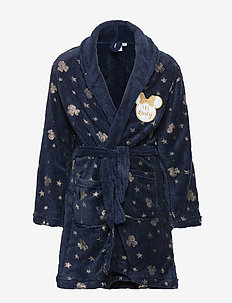 DRESSING GOWN CORAL - bathrobes - blue