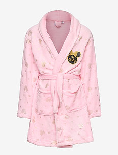 DRESSING GOWN CORAL - PINK
