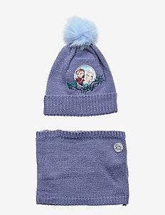 SET 2 PCES CAP - BLUE