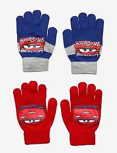 SET 2 PCS GLOVES - handschuhe - red