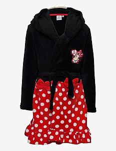 DRESSING GOWN - bathrobes - black