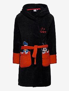 DRESSING GOWN - badekåber - black
