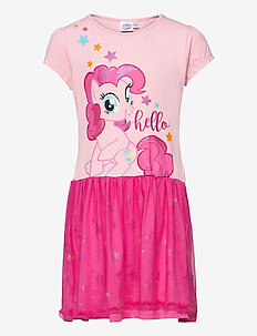 SHORT SLEEVE DRESS - kleider - pink
