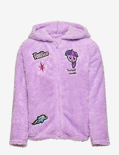 POLAR JACKET - hoodies - purple
