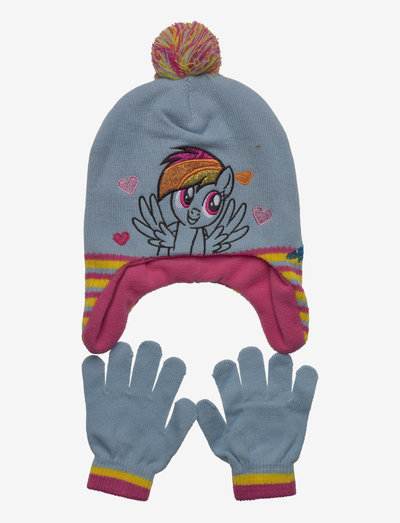 PERUVIAN - accessoireset voor de winter - blue