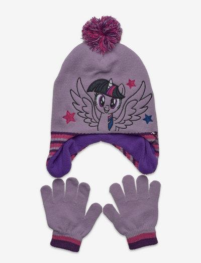 PERUVIAN - accessoireset voor de winter - purple