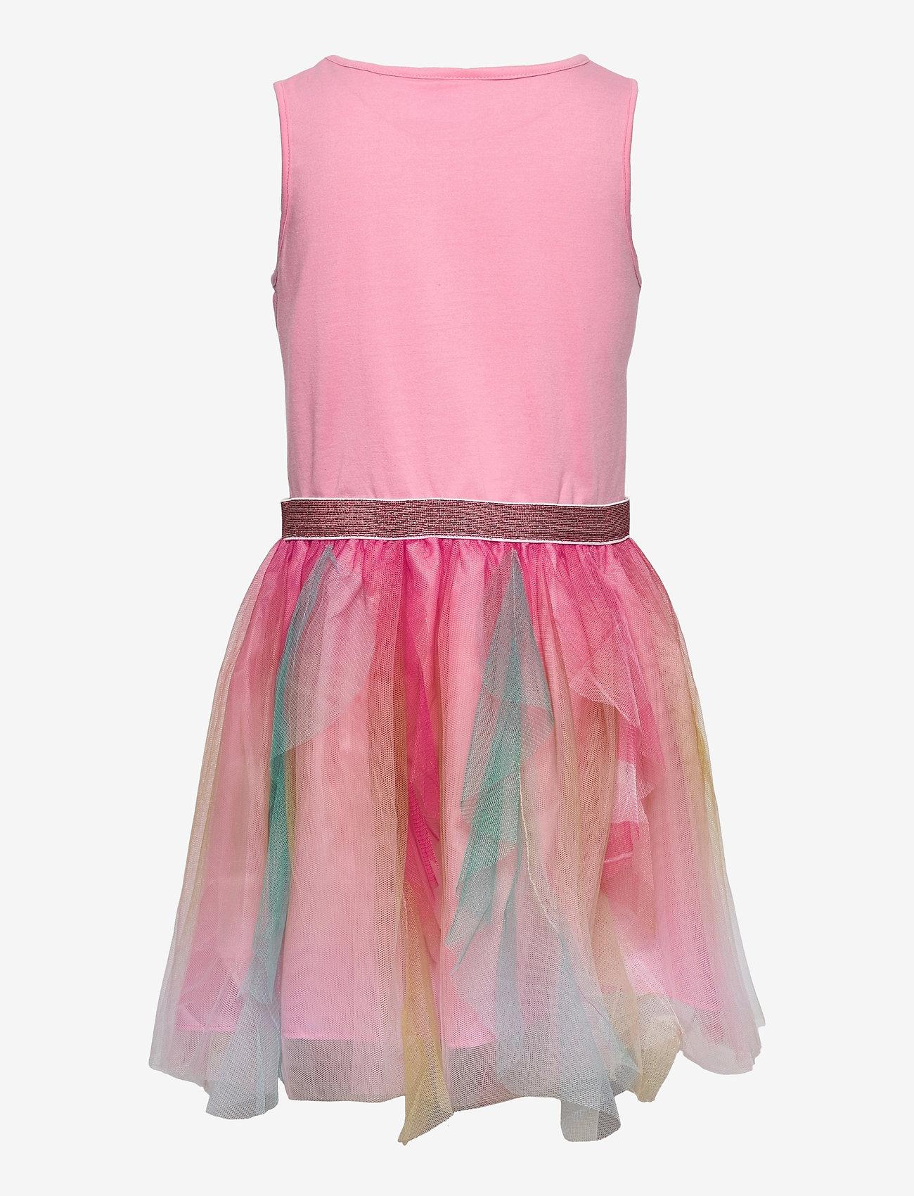 L.O.L - DRESS S/M RUFFLED SKIRT MULTI CO - kleider - pink - 1
