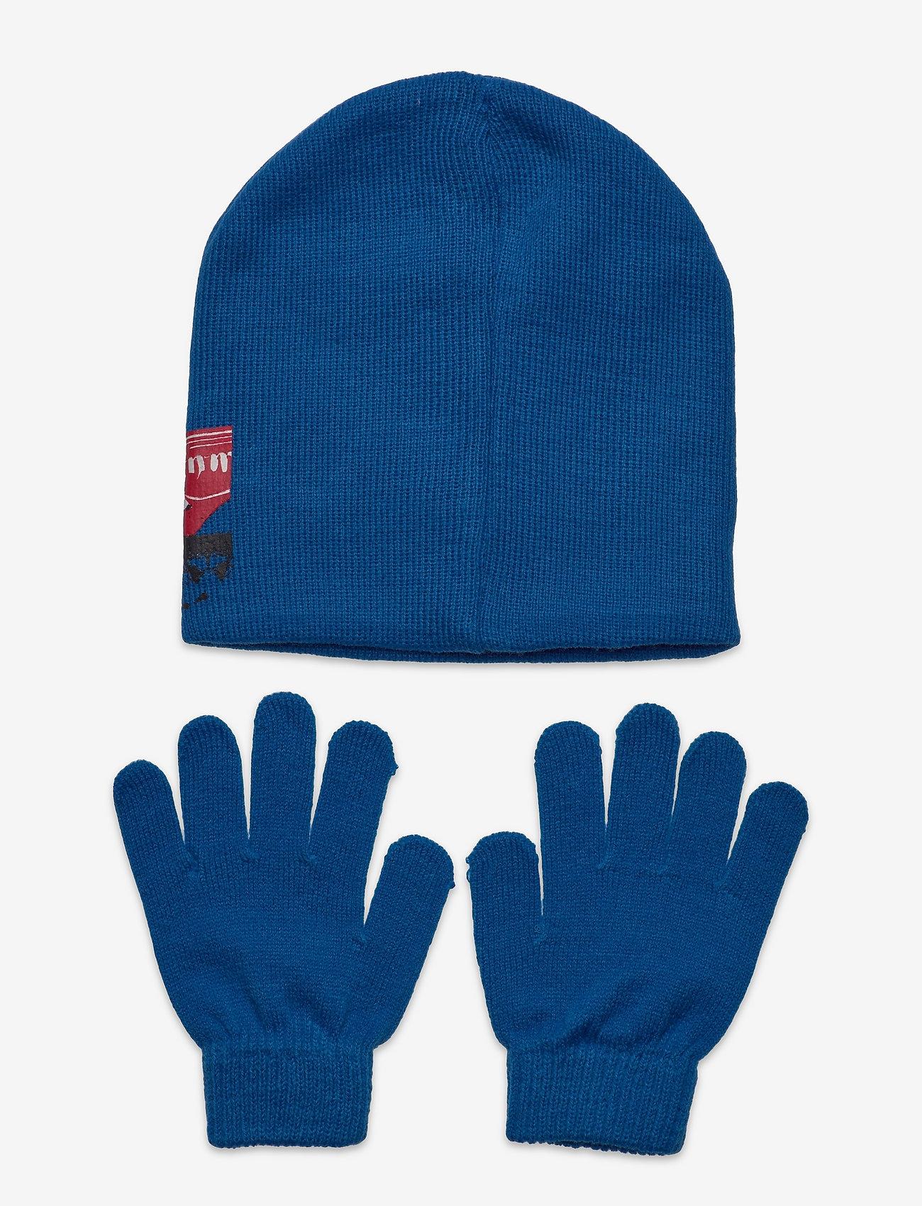 Star Wars - SET CAP + GLOVES - vintertilbehørssæt - blue - 1