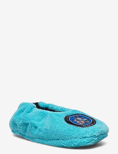 SLIPPERS - hausschuhe - blue