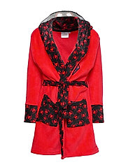DRESSING GOWN CORAL - RED