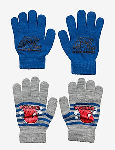 SET 2 PCS GLOVES - BLUE