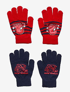 SET 2 PCS GLOVES - NAVY