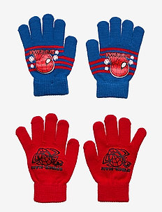 SET 2 PCS GLOVES - RED