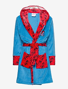 DRESSING GOWN CORAL - BLUE