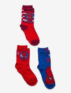 3 PACK SOCKS - sokker - red