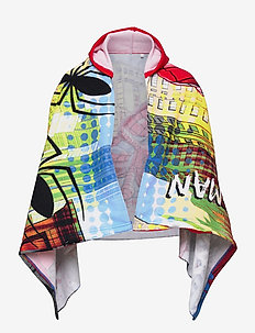 BATHING CAPE - bade-poncho - red