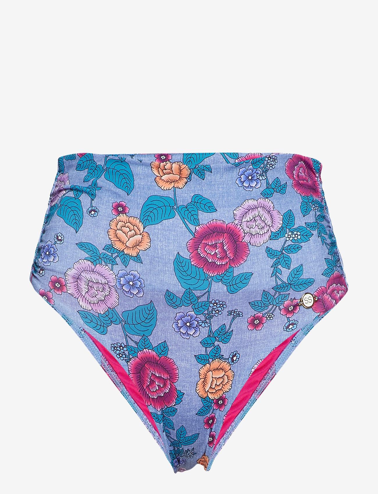 Sunseeker - Western Petal FullClassic Pant - bas de maillot de bain - indigo