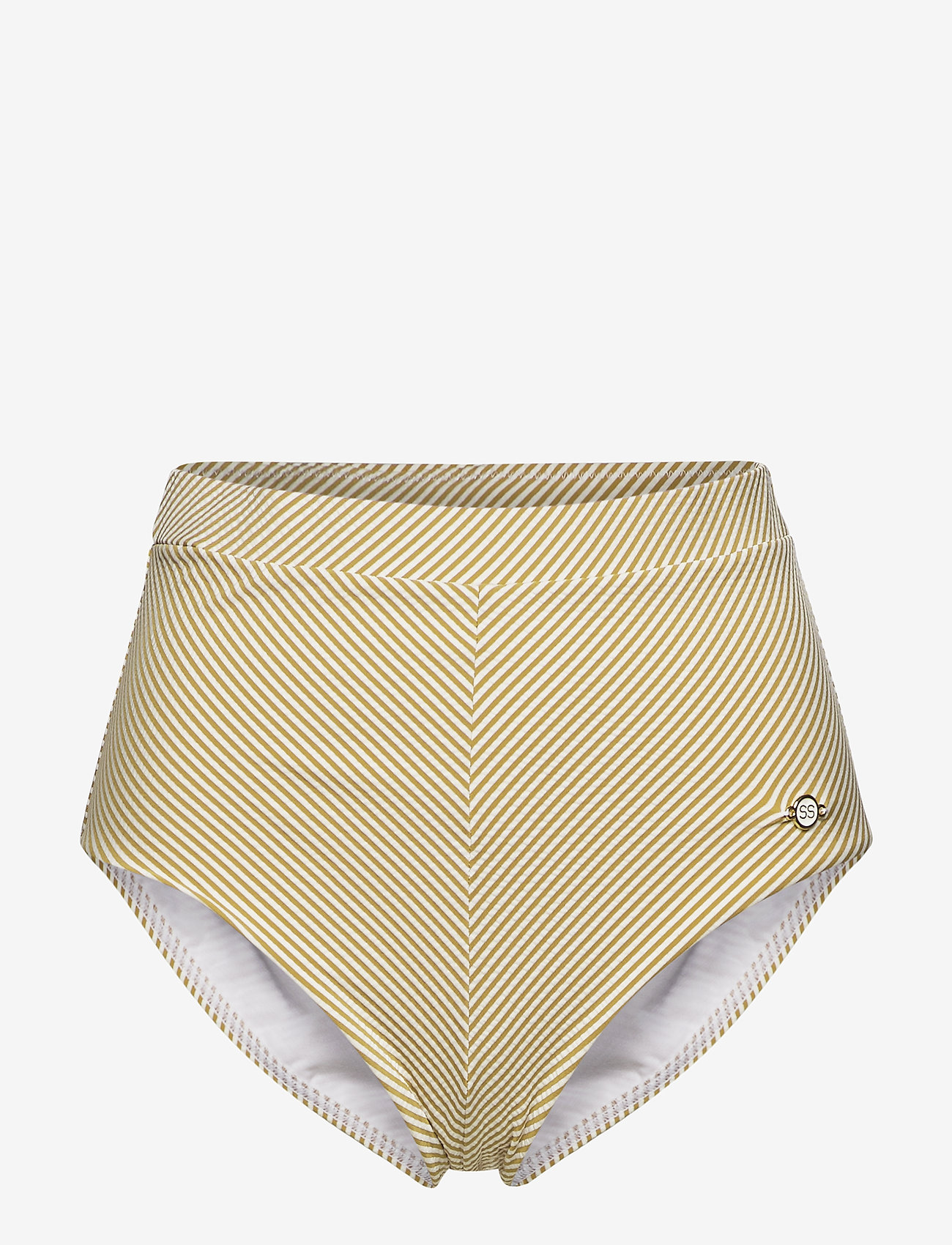 Sunseeker - Vintage Prairie High Waist Pant - bikini bottoms - mustard - 0