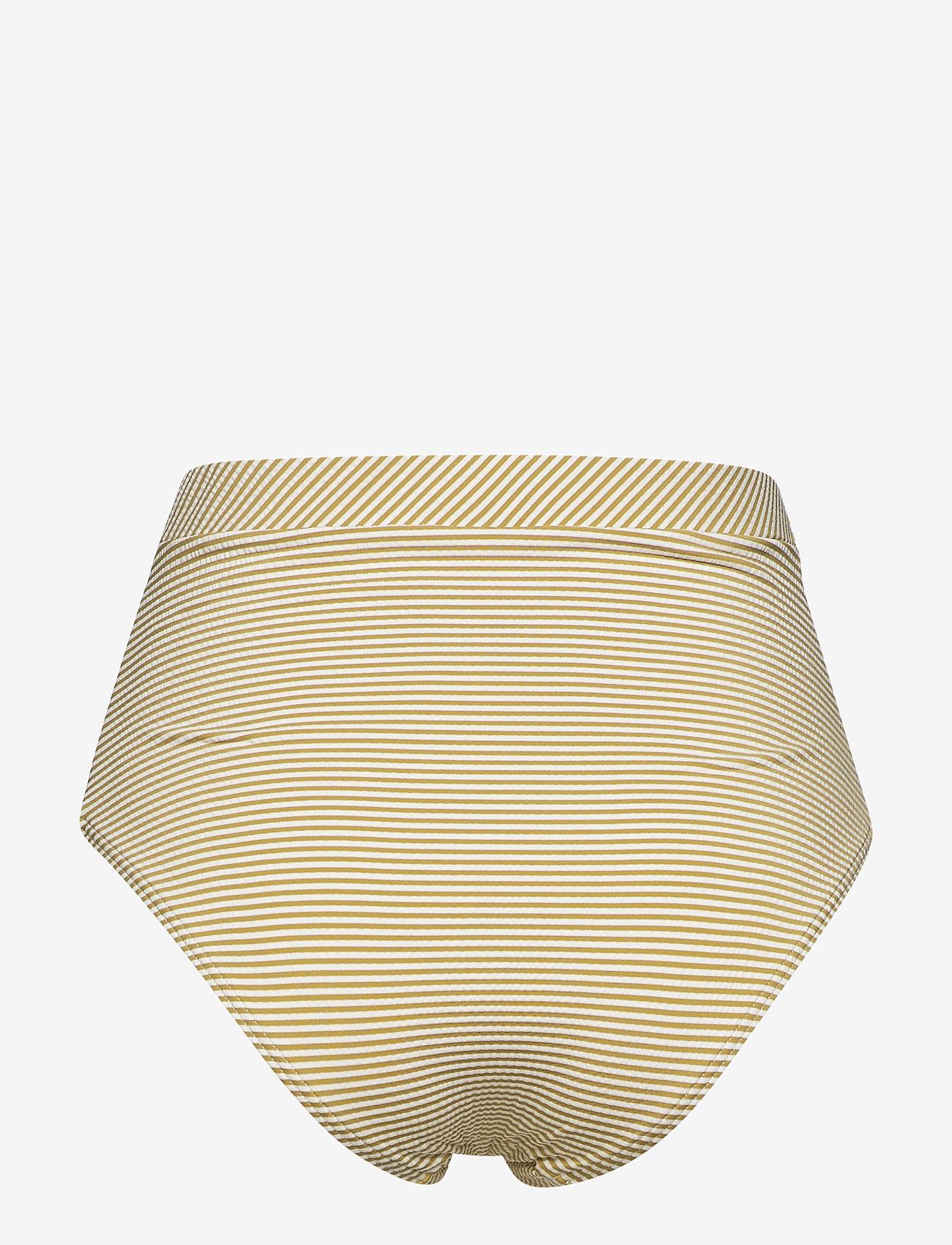 Sunseeker - Vintage Prairie High Waist Pant - bikini bottoms - mustard - 1