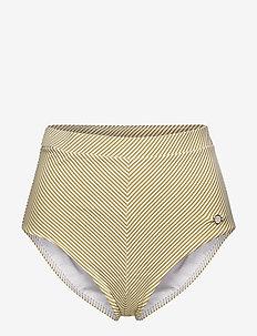 Vintage Prairie High Waist Pant - bikiniunderdeler - mustard