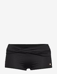 Solid Boyleg Pant - BLACK