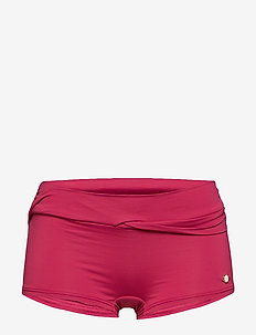 Solid Boyleg Pant - RIOT RED
