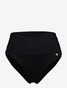 Solid  Full Classic Pant - BLACK